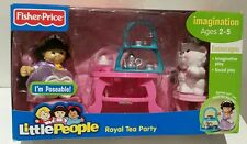 Fisher Price Little People Sonya Lee & Kitty Royal Tea Party Play Set Nuevo Regalo