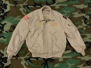 US Army Tanker Jacket Cold Weather FR Desert Tan NSN 8415-01-333-8401 ARAMID