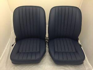 Jaguar Etype S2 Sitze - Original Voll Wiederhergestellt IN Farbe Von Ihrer Wahl
