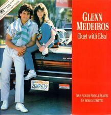 "Glenn Medeiros(12"" Vinyl)Love Always Finds A Reason-London-LONX 213-UK-Ex/NM"