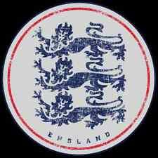 """England National Team Sticker 6"""" x 6"""" - Three Lions Sticker - StickersFC.com"""