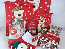 XMAS Combo! Bags/Cards/Bows/Tape/Ribbon  Free Post Superfast Shipping!!