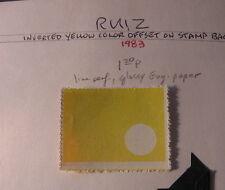 Philippines ERROR INVERTED YELLOW OFFSET 50 KNOWN RUIZ