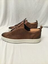 Ecco Men's Low Top Sneaker: Size 9: Brown (93)