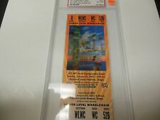 2001 SUPER BOWL XXXV FULL TICKET NM MINT PSA 8 RARE RAVENS VS GIANTS RARE