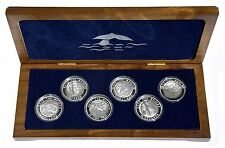 2002 Mother of Pearls Silver Proof Set 'Narce' Natures pearl-like creation