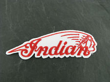 Patches Aufbügler Aufnäher Patch Indian Motocycle Scout Chief Big Twin