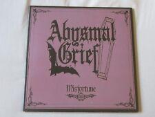 ABYSMAL GRIEF - Misfortune NEW LP gatefold mortuary drape paul chain
