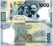 Mexico 1000 Pesos 2019 / 2021 Comm. P New Design SERIES AE UNC