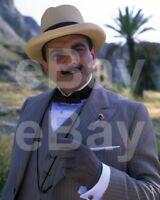 "Poirot (TV) David Suchet ""Agatha Christie's Hercule Poirot"" 10x8 Photo"