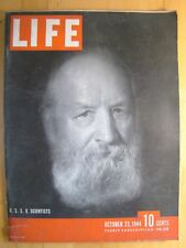 Life Magazine October 23 1944  U.S.S.R. Scientists War Comes To Philippines