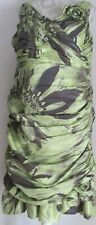 JOHN CHARLES MOTHER OF THE BRIDE DRESS - GREEN - SIZE 18