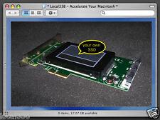 "Apple Mac Pro 1,1-5,1 SSD Controller Card Upgrade Kit *SATA III 2.5""/NGFF M2 SSD"