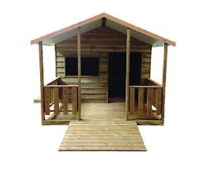 Cubby House - Wooden - SPECIAL NEEDS CUBBY