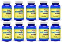 Brain Boost Pills Supplement  Nootropic Ginkgo Biloba Limitless Focus Memory