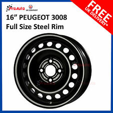 "PEUGEOT 3008 2008-2016 16"" FULL SIZE STEEL SPARE WHEEL 7J X 16"" STEEL RIM"