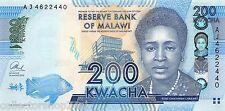Malawi 200 Kwacha 2013 Unc Pn 60b