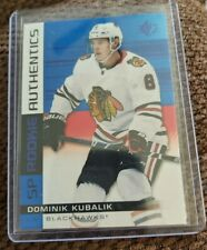 2019/20 SP Rookie Authentics Dominik Kubalik