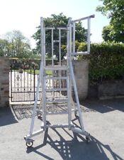£175 + Vat Youngman P1500 Folding, Stabilised Mobile Access Podium -Scaffolding