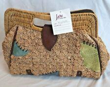 Larone Crafts, Inc., Handbag,Purse,Bag,Handmade,Wicker,Straw,Philippines,New