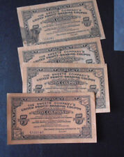 Lot of 4 Vintage 1930s  Profit Sharing Coupons Sweet's Company Tootsie Rolls