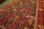 COLLECTORS' PIECE Antique Karabah Natural Vegetable Dye Washable Fine Woven Rug