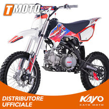 "Pit Bike Kayo NEW 125cc Racing Cross cerchi 17""-14"" 4 marce moto cross enduro"