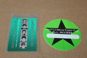 Matchbox 20 Twenty -  2 x   Backstage Pass - Lot # 3 - FREE SHIPPING -