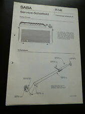 Original Service Manual  SABA Transeuropa automatic H