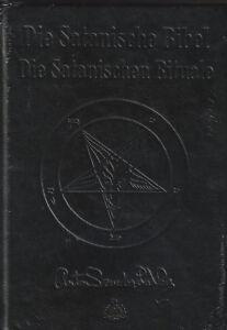 DIE SATANISCHE BIBEL - Anton Szandor LaVey - DELUXE AUSGABE IN LEDER - NEU