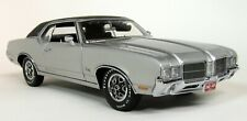 Exact Detail 1/18 Scale 1971 Oldsmobile Cutlass Supreme SX Sil diecast Model Car