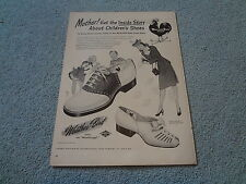 """1945 Weather bird Shoes Vintage Magazine Ad """"Mother! Get the inside story about"""""""