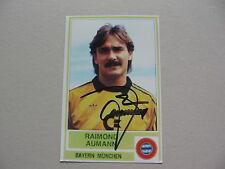 RAIMOND AUMANN (FC BAYERN MÜNCHEN) signed Photo 10x15 Weltmeister 1990