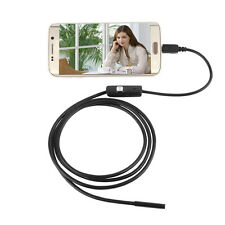 7mm 3.5M Android OTG Phone Endoscope IP67 USB Borescope HD LED Camera*