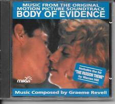 CD ALBUM BOF/OST 11 TITRES--BODY OF EVIDENCE--HILL/GRAEME REVELL