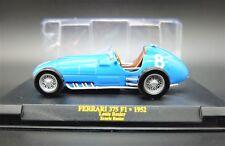 FERRARI FORMULA 1 UNO SCALA 1/43 375 F1 MODELLINO AUTO CAR MODEL DIECAST IXO