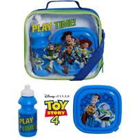 Toy Story 4 Kids School Lunch Bag Set 3 Pcs Sandwich Box Drinks Sports Bottle
