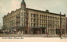 Lindell Hotel in Lincoln NE Postcard 1909