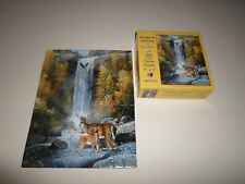 Complete ! 100 Piece *Whitetail Deer* Mini Puzzle Rainbow Setting Bambi PC Eagle