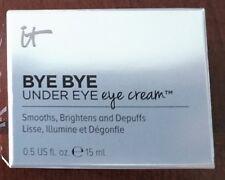 IT COSMETICS BYE BYE UNDER EYE Eye Cream MED (0.5 FL. OZ.) New in Box! Full size