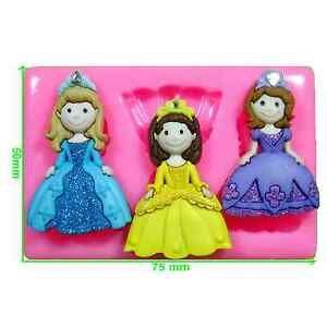 Princess Cinderella Mould by Fairie Blessings