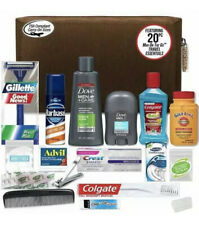 Convenience Kits Men's Premium 20 Count Necessities Travel Kit, Featuring: Dove