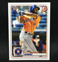 2020 Bowman Yordan Alvarez RC Houston Astros Rookie #25