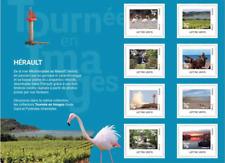 """France 2019 Collector """" TOURNÉE EN IMAGES - HÉRAULT """"   8v MNH / Neuf**"""