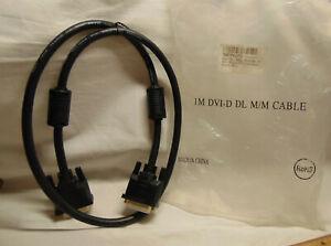 New Offex DVI-D Dual Link Cable, DVI-D Male-DVI-D Male  Black 3 foot