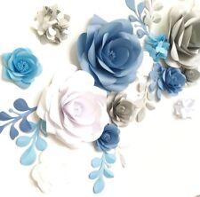 Pa -Ula paper flower wall art, Nursery decoration,bedroom and wedding Decoration