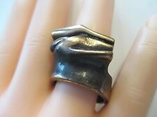 Engla ° Design anillo ° bronce ° Modernist ° 70er años °