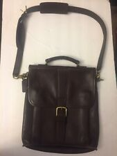 Coach Emmerson Messenger  Satchel Crossbody Leather Brown Schoolbag 5280