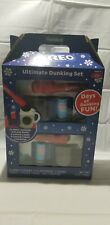 Oreo Ultimate Dunking Fun Set CHRISTMAS GIFT Frankford Mugs Cages Tongs Cookies