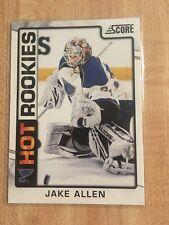 JAKE ALLEN HOT ROOKIES, #544 2012-13 Score